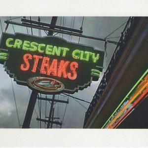 Neon Sign Postcard